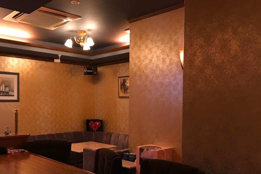 長野スナック・ラウンジ「Lounge 織」店内写真