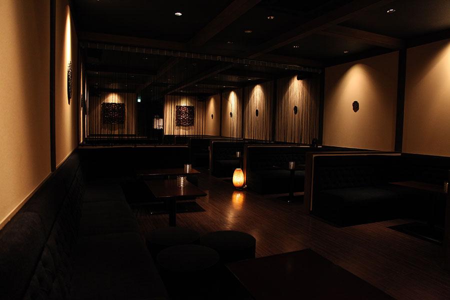 伊勢崎市のキャバクラ「プートリー」店内写真